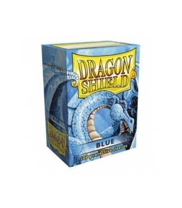 Fundas Standard Dragon Shield Color Azul - Paquete de 100
