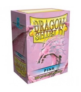 Fundas Standard Dragon Shield Color Rosa - Paquete de 100