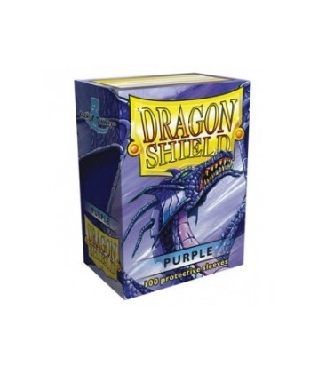 Fundas Standard Dragon Shield Color Púrpura - Paquete de 100