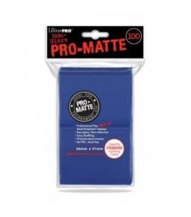 Fundas Standard Pro Matte Ultra Pro Color Azul - Paquete de 100