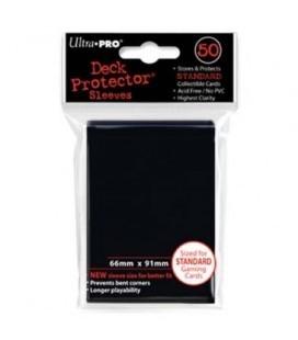 Fundas Standard Ultra Pro Color Negro - Paquete de 50
