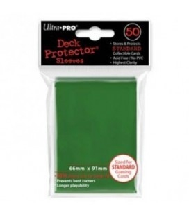 Fundas Standard Ultra Pro Color Verde - Paquete de 50