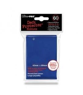 Fundas Small Ultra Pro Color Azul - Paquete de 60
