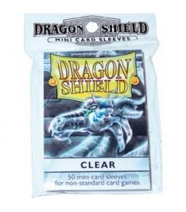 Fundas Small Dragon Shield Color Transparente - Paquete de 50