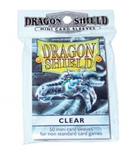 Fundas Small Dragon Shield Color Transparente - Paquete de 50