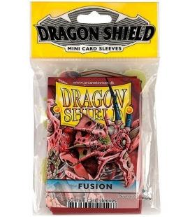 Fundas Small Dragon Shield Color Fusión - Paquete de 50