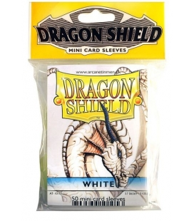 Fundas Small Dragon Shield Color Blanco - Paquete de 50