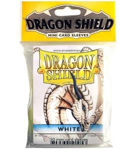 Fundas Small Dragon Shield Color Blanco - Paquete de 50