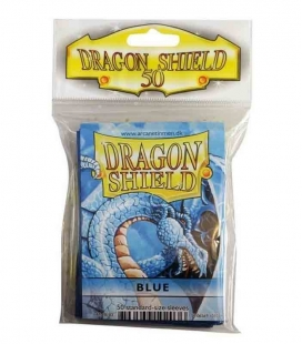 Fundas Standard Dragon Shield Color Azul - Paquete de 50