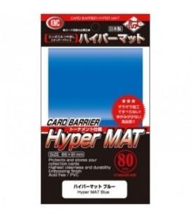 Fundas Standard KMC Hyper Mat Color Azul - Paquete de 80