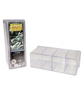 Caja de mazo Deck Shell Verde de Dragon Shield
