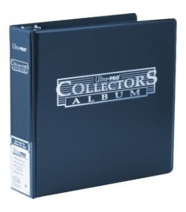 Collector's Card Ultra Pro. Album de tres anillas. Color Azul