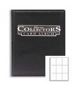 Collector's Portfolio 9 bolsillos Ultra Pro. Color Negro
