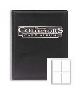 Collector's Portfolio 4 bolsillos Ultra Pro. Color Negro