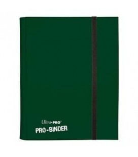 Pro Binder 9 bolsillos Ultra Pro. Color Verde Oscuro