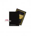 Fundas Standard Dragon Shield Matte Color Jet - Paquete de 100