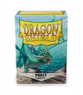 Fundas Standard Dragon Shield Matte Color Mint - Paquete de 100