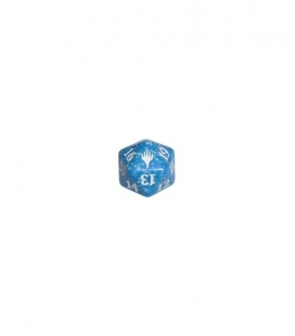 Dado de 20 caras Magic the Gathering. Wizards of the Coast. D20 Azul