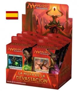 Display Mazos de Planeswalker de La Hora de la Devastación Español - cartas Magic the Gathering