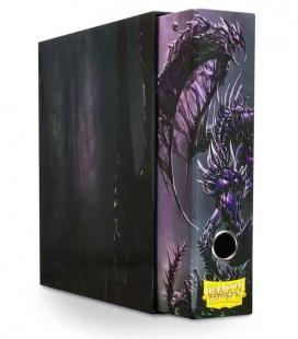 Álbum Slipcase Binder Dragon Shield. Color Negro