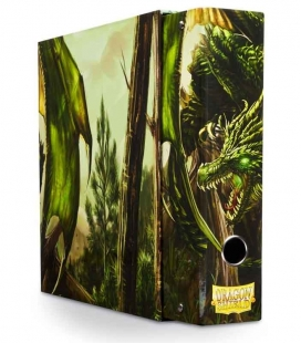 Álbum Slipcase Binder Dragon Shield. Color Verde
