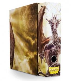 Álbum Slipcase Binder Dragon Shield. Color Blanco