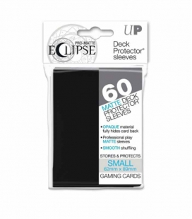 Fundas Small Pro Eclipse Matte Ultra Pro Color Negro - Paquete de 60
