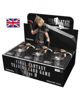 Caja de sobres de Opus 4 Inglés - cartas Final Fantasy TCG