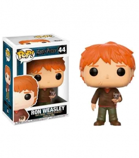 Funko POP! Ron Weasley with Scabbers - Harry Potter