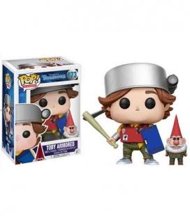 Funko POP! Toby con armadura y gnomo Figura Exclusiva - Trollhunters