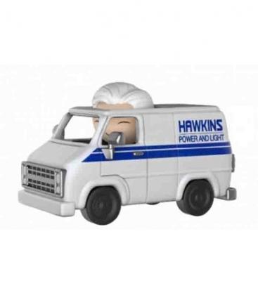 Funko Dorbz Hawkins Van and Hazmat Suit Bad Guy - Stranger Things