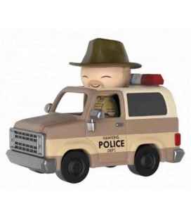 Funko Dorbz Hopper y Sheriff Deputy Truck - Stranger Things