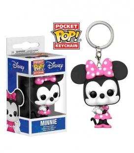 Funko Keychain de Minnie Mouse clásica Disney . Llavero