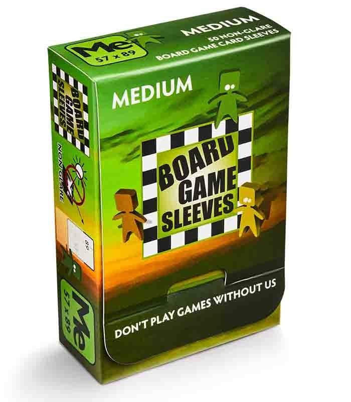 Fundas Medium Dragon Shield Board Game Non Glare para juegos de mesa