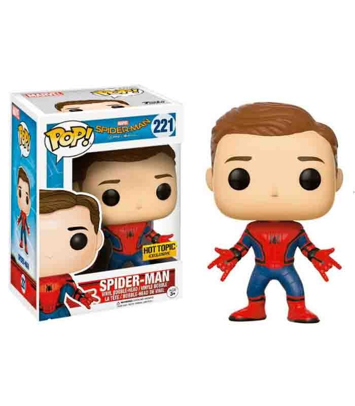 Funko POP! Spiderman Unmasked - Spiderman Homecoming