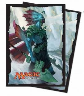 Caja de mazo para cartas Solid Ultra Pro. Para 85 cartas. Color Aqua