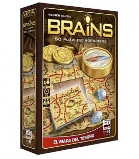 Brains. Mapa del Tesoro - Juego de mesa SD GAMES