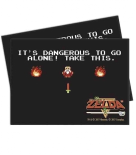 Caja de mazo Dragon Shield Gaming Box - Para 100 cartas. Color Rosa