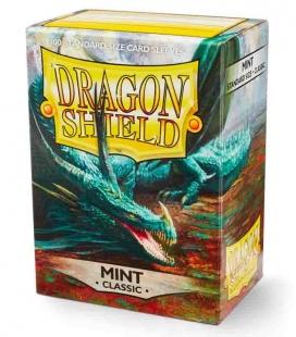 Fundas Standard Dragon Shield Color Mint - Paquete de 100