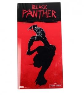 Black Panther póster de vídrio 30x60 Marvel Civil War