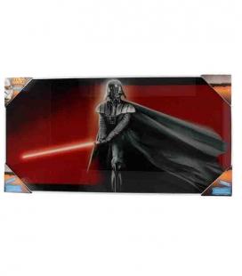 Darth Vader póster de vídrio Star Wars 60x30 cm