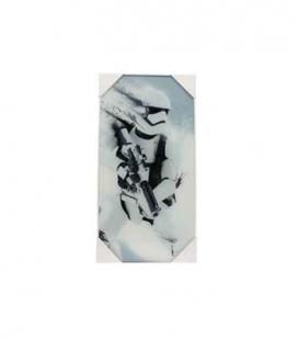 Stormtrooper nieve póster de vídrio Star Wars ep7 30x60 cm
