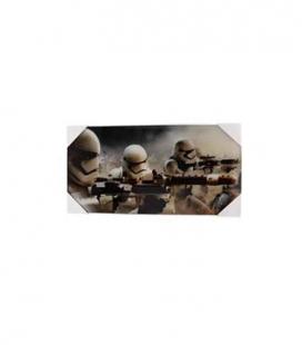 Stormtroopers batalla póster de vídrio Star Wars ep7 60x30 cm