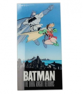 Batman y Robin póster de vídrio The Dark Knight Returns DC 30x60 cm