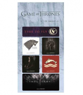 Juego de Tronos set A Imanes Game of Thrones
