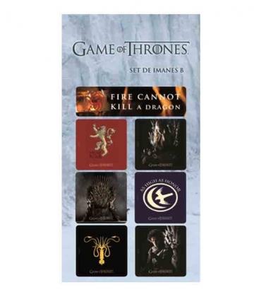 Juego de Tronos set B Imanes Game of Thrones