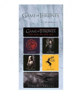 Juego de Tronos set C Imanes Game of Thrones