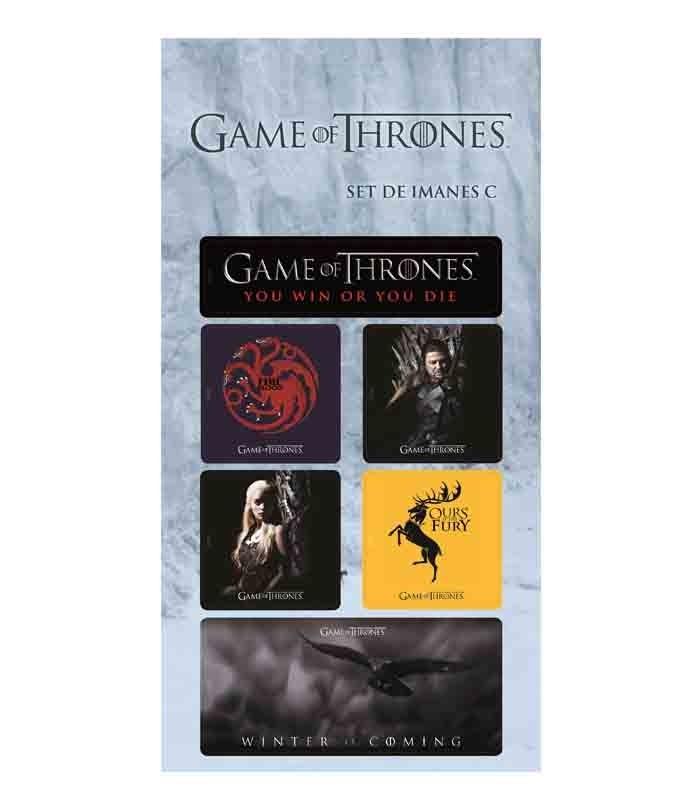 Juego de Tronos set C Imanes Game of Thrones