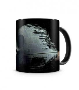 Halcón Estrella de la Muerte taza cerámica Star Wars