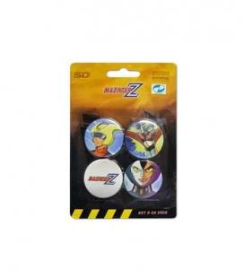 Mazinger Z set b de 4 pins